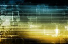 Technology Analytics Stock Illustration