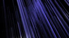 Flowing Blue Bars of Background Animation Stock Footage