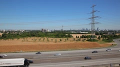 Highway in Germany Stock Footage