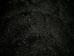 Dark abstract photo with lightly visible footprint Stock Photos