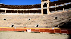 Antique arena in Mallorca. Stock Footage