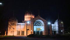 Exhibition Building Stock Footage