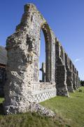Ruins of St Andrew's Church, Covehithe, Suffolk, England Stock Photos