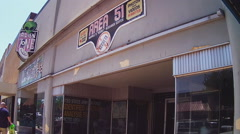Area 51- Fun Alien Exhibits For Photography And Video- Roswell NM - stock footage