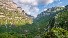 Vikos Gorge Stock Footage