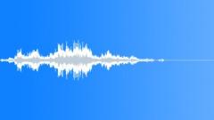 Small Glass Debris Shuffle 3 - sound effect