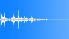 Small Glass Debris Shuffle 4 - sound effect