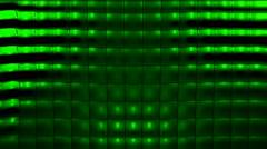 Green Tile Warp Stock Footage