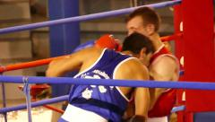 boxing championship - stock footage