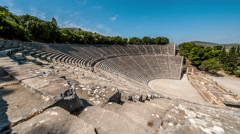 Stock Video Footage of Epidavros Amphitheatre