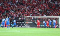 UEFA Europa League Final game Dnipro vs Sevilla - stock photo