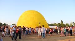 European Balloon Festival 2015, Igualada, Spain Stock Footage