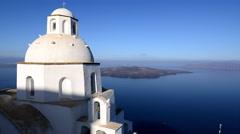 Agios Minas - Santorini, Greece Stock Footage