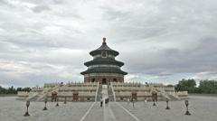 Visit Temple of Heaven, Beijing Stock Footage