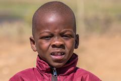 Worried child Stock Photos