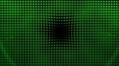 Green TIles Fliping Stock Footage