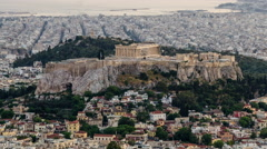 Acropolis Stock Footage