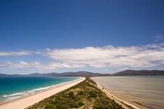 The Spit Lookout - Bruny Island - stock photo