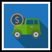 Car expenses - stock illustration