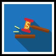 Stock Illustration of Gavel icon