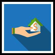 Mortgage icon Stock Illustration