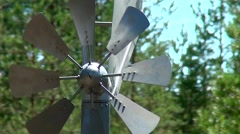 Weather vane spinning in the wind. - stock footage