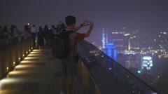 Hong Kong photographer 4K Stock Footage