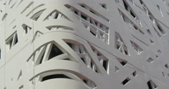 Architectural concrete abstract pattern Stock Footage