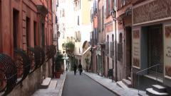 Grasse Street, Provence, France Stock Footage