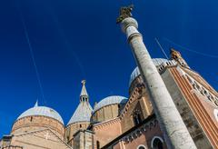 Architectural detail of Saint Anthony Church (Basilica) - Padova, Italy - stock photo