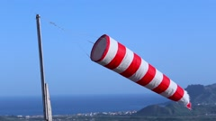 Windsock - stock footage