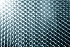 Brushed metal texture with circular pattern. Stock Photos