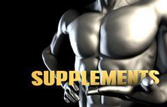 Supplements Stock Illustration
