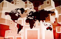 Global Business Logistics Stock Illustration