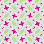 Stock Illustration of Cute abstract neon feminine pattern for textiles
