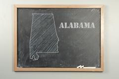 Alabama State - stock photo