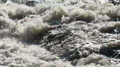 Flooding river. Brazilian river.  Stock Footage