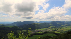 Swiss Country Landscape Stock Footage