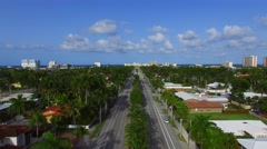 Stock Video Footage of Hollywood Blvd Florida