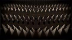 Pyramid Mirror #1 Stock Footage
