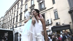 Mediterranean Gay Pride - Naples 2015 Stock Footage