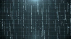 Digital data background 4K (More than 35 ) Stock Footage