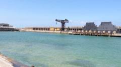 Tel Aviv Port - Namal Stock Footage