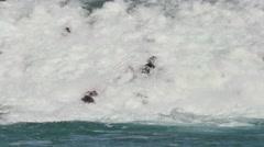 Bow Falls 4k cu Stock Footage
