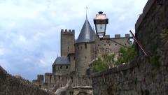 Carcassonne, France - stock footage