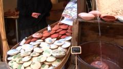Making Soap, Pezenas, Languedoc, France Stock Footage