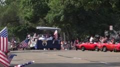 July 4th Parade going through Fairborn Ohio 4k - stock footage