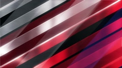 Red White and Blue Moving Lines with Multiple Layers Stock Footage