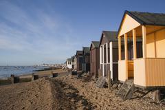 Beach Huts, Thorpe Bay, Essex, England Kuvituskuvat