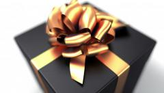 Unpacking a Gift Stock Footage